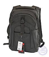 Оптом Качественный рюкзак для мальчика - серый - 3203