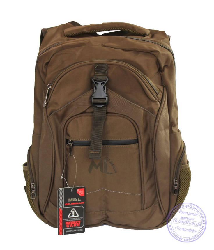Оптом Качественный рюкзак для мальчика - бронзовый - 3203, фото 2