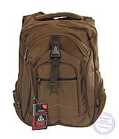 Оптом Качественный рюкзак для мальчика - бронзовый - 3203