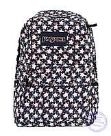 Оптом Рюкзак для девочек подростков - синий - 8019