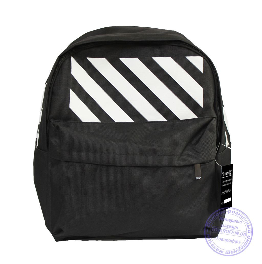 Оптом Универсальный спортивный рюкзак - черный - 8145