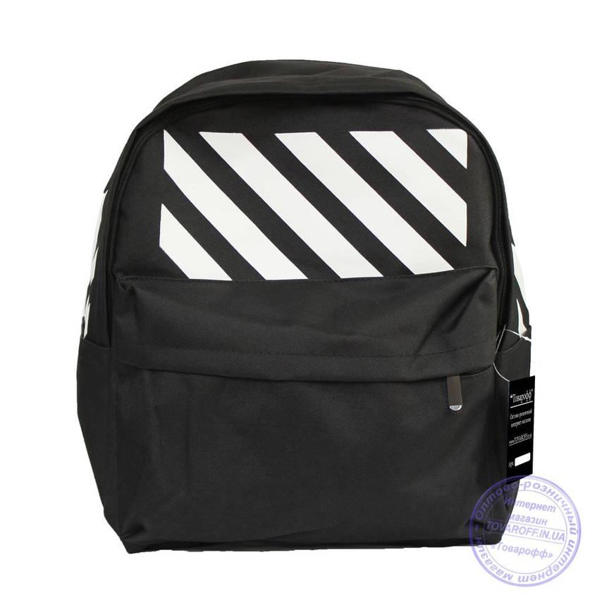 Оптом Універсальний спортивний рюкзак - чорний - 8145, фото 2