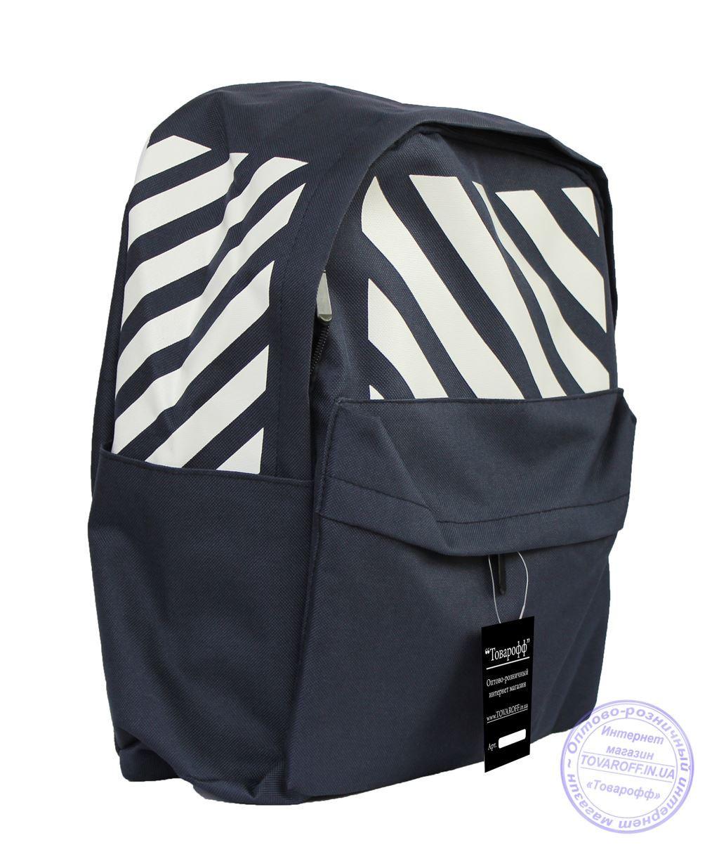 Оптом Универсальный спортивный рюкзак - темно-синий - 8145