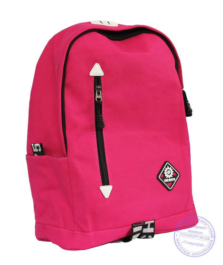 Оптом Стильный розовый рюкзак школьный и прогулочный - 8152, фото 2