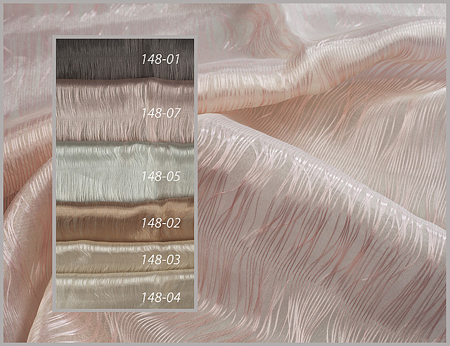 Тюль прозрачные нити