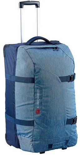 Дорожная оригинальная сумка 100 л. на 2-ох колесах тканевая Caribee Globe Master 100 Blue, 922326 синий