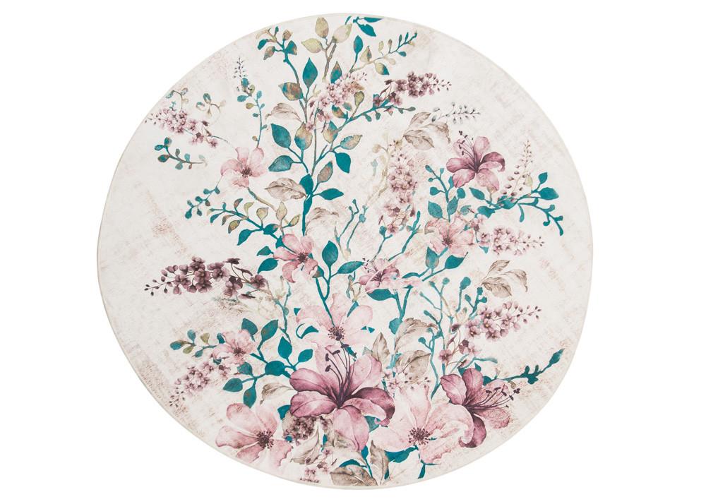 Коврик для ванной комнаты 100% акрил круглый Lancera 90 Q - April House производство и продажа товаров для дома в Одессе