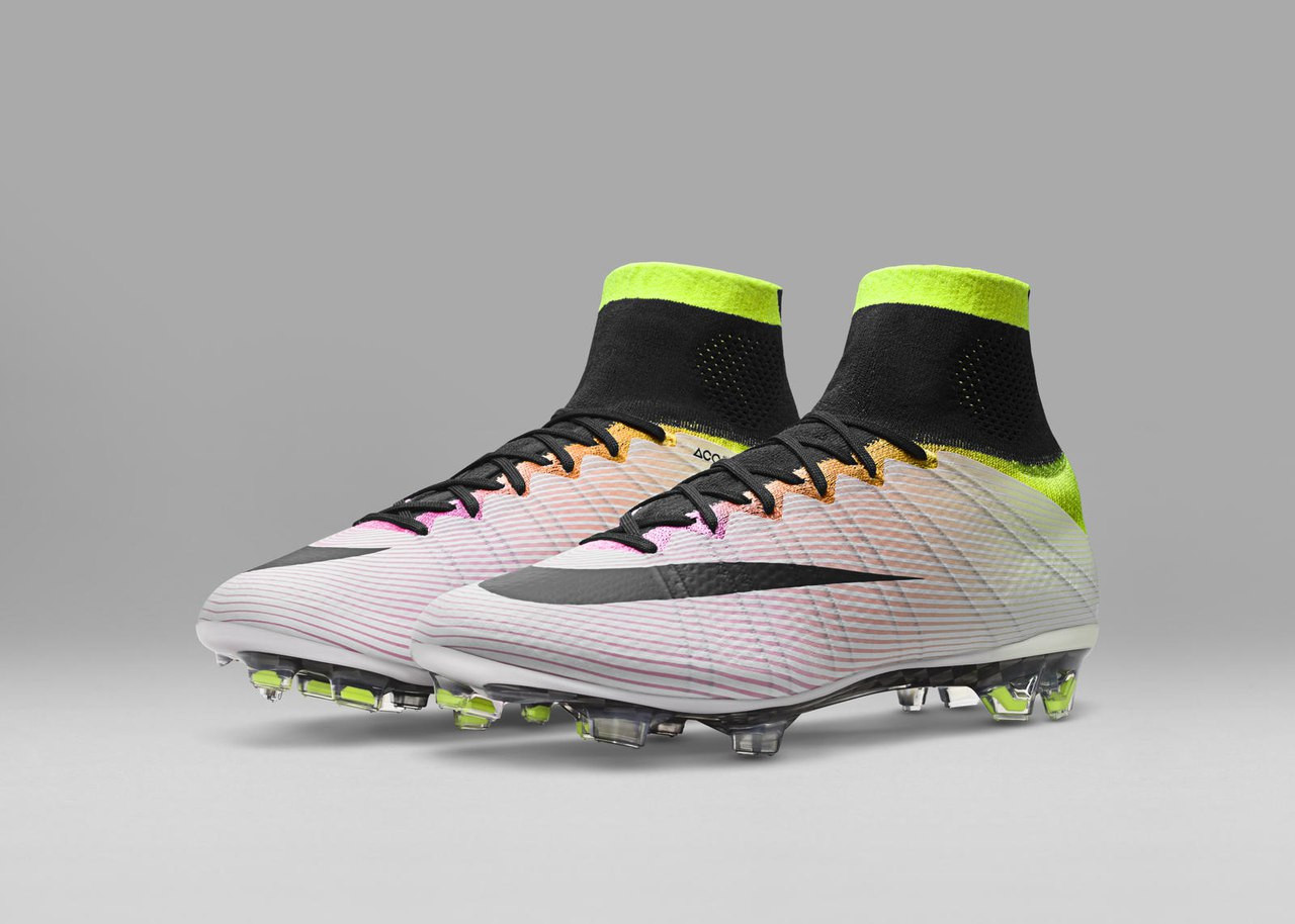БУТСИ Nike Mercurial Superfly Radiant Reveal - White   Black   Pink Blast   Volt   50e9391dccf64