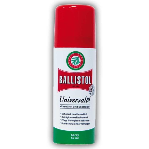 Масло оружейное Klever Ballistol Spray универсальное 50ml
