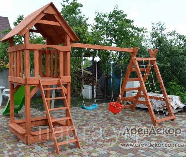 Детский игровой комплекс  и горка  Юнга
