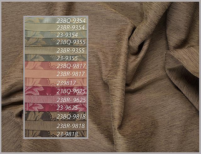 Ткани для штор пртнеры: однотонные, с рисунком