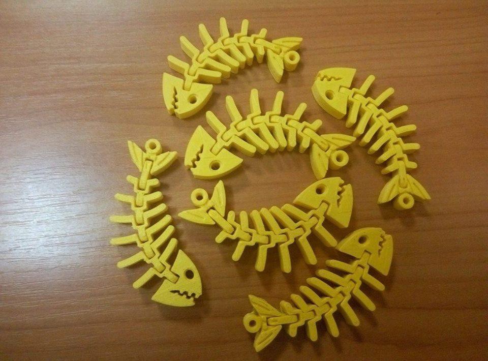 Работы талантливых 3D-мастеров, выполненные из нашего пластика 3