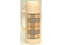 Термос стекло 1 л T41-1, компактный термос для напитков, компактный термос для напитков, термос 1 литр