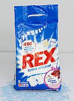 Стиральный порошок Rex 2 в 1 Цветущая Сакура, 3 кг (автомат)