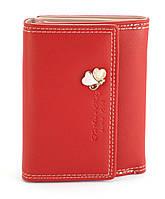 Стильный красный горизонтальный женский кошелек FUERDANNI art. 8804, фото 1