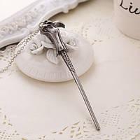 Кулон с цепочкой Волшебная палочка Гарри Поттера