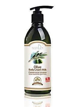 """Тианде """"Крем-молочко для тела"""" «Солнечные оливки», серия """"Hainan Tao""""- питание"""