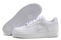 Кроссовки Nike Air Force Low All White, фото 1
