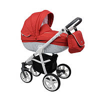 Детская универсальная коляска 2 в 1 Roan Bass B2 Red