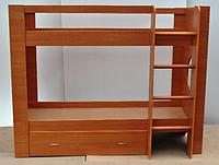 Детская кровать ПРОСТАЯ  двухъярусная