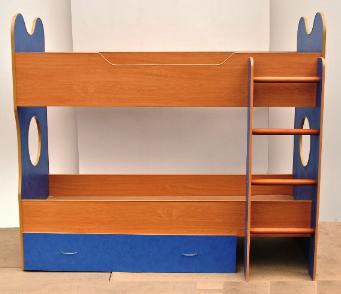 Дитяче ліжко ФАНТАЗІЯ двоярусна