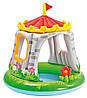 Надувний дитячий басейн з навісом Замок Intex.Royal Castle Baby Pool (від 1 до 3 років)