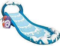 Надувная горка Surf 'n Slide Intex.Игровой центр 'Морская волна'