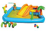 Надувной водный игровой центр Intex
