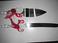 """Нож и лопатка """"Роза"""" красная лента"""
