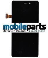 Оригинальный дисплей (модуль) + сенсор (тачскрин) для Fly IQ453 (черный)