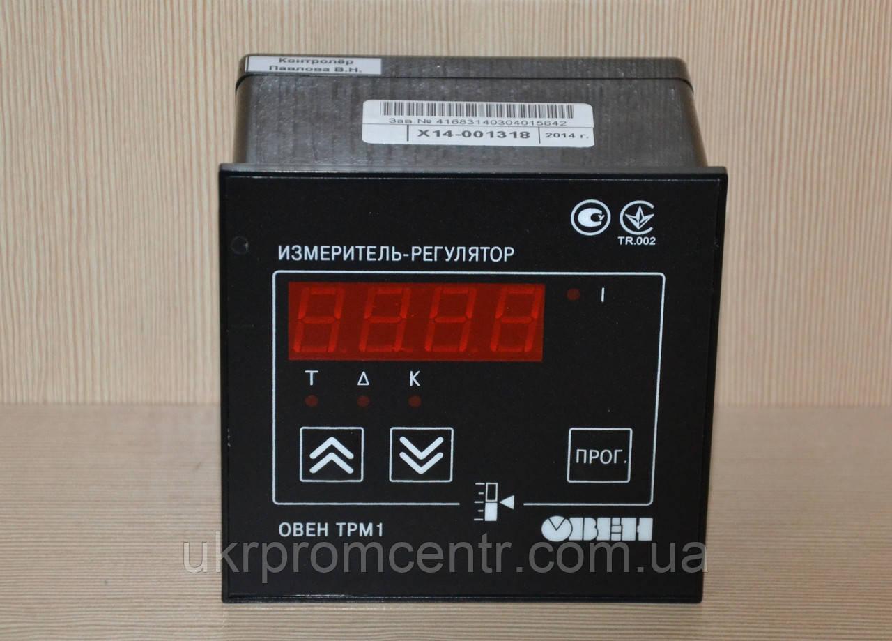 Измеритель-регулятор одноканальный ОВЕН ТРМ1.