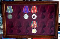 Панно Витрина для медалей и орденов СССР