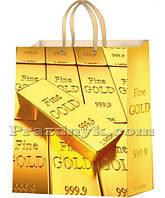 Подарочный пакет 43х32 см