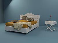 Кровать двуспальная Люкс МОНРО без матраса с ящиком для белья