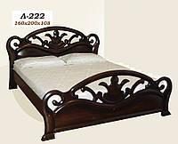 Кровать Л 222 (160х108х200), двуспальная, фото 1