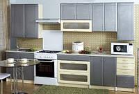 Кухня ГАЛАКТИКА МДФ 2.6 м., фото 1