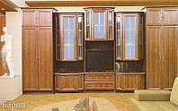 Стенка БАРОН, витрина/пенал, фото 1