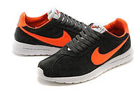 Кроссовки Nike Roshe Run FRGMT Carbon Grey Orange, фото 1
