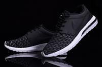 Кроссовки Nike Roshe Run 3M Flyknit Black