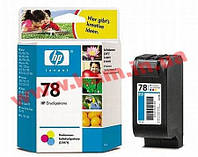 HP 78 Tri-color Ink Cartridge (C6578D)