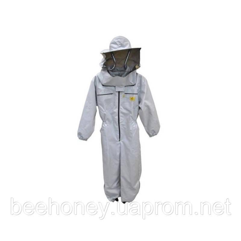 Комбинезон пчеловода детский с шляпой на замке. Рост 146 см