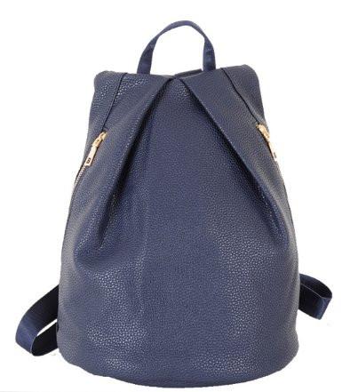 Стильный женский  рюкзак треугольной формы.