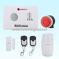Комплект Охранная сигнализация GSM 10C Pro + WTM радиомодуль (охранная сигнализация gsm)