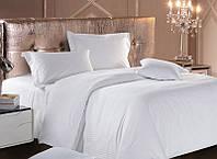 Комплект постельного белья Страйп-сатин семейный