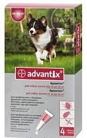 Капли Адвантикс для собак весом 10- 25 кг 1шт