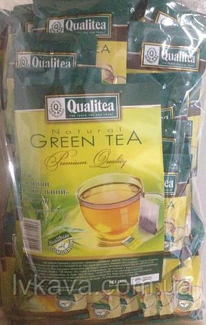 Чай  зеленый Qualitea, 100 пак, фото 2