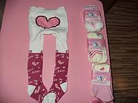 Детские махровые  колготки для девочек(Termo)Armando, фото 1