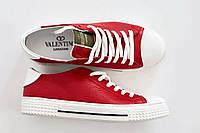 Мужские кеды красные Valentino
