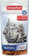 Beaphar Malt Bits light 35 г-для вывода шерсти у кошек, склонных к лишнему весу (11427)