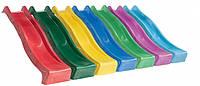 Горка детская игровая пластиковая КВТ Belgium 3 метра.С подключением воды (горка спускгорка волна), фото 1